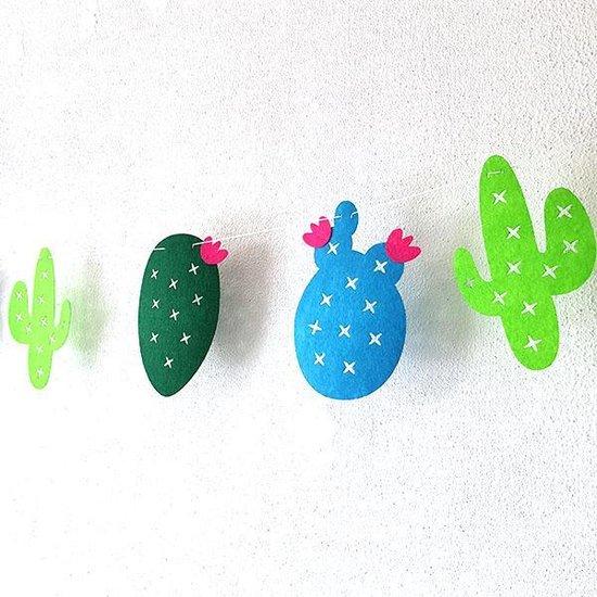 Stoffen cactus slinger