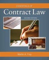 Boek cover Essentials of Contract Law van Martin Frey