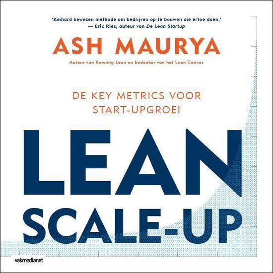 Boek cover Lean scale-up van Ash Maurya (Paperback)
