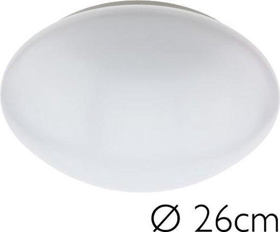 Plafonniere Neutraal Wit LED 26 cm Bolvormig