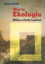 Boek cover Wat is ekologie kapitaal arbeid en milieu van Continental