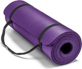 Sportbay fitnessmat - 180 cm x 60 cm x 1 cm - Paars