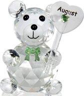 Kristalglas beer geboorte maand augustus