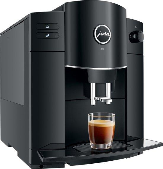 Jura D4 - Espressomachine - Piano Black