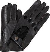 Leren autohandschoenen dames model Mackay Color: Black, Size: 7.5