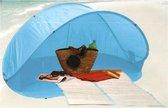 Pop Up Beach Tent 200X100X90 Cm - Blauw - 2 Persoons
