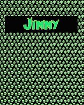 120 Page Handwriting Practice Book with Green Alien Cover Jimmy