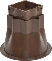 Bedverhogers / bedklossen / meubelverhogers / stoelverhogers per set van 4. Instelbaar (8-13cm)