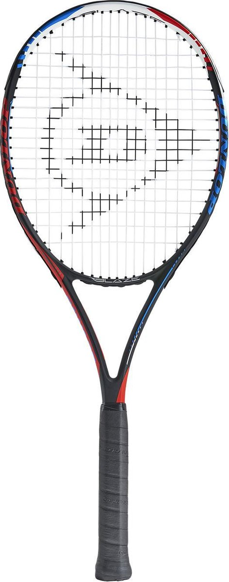 Dunlop BLAZE ELITE 3.0 G2 HL - Zwart/Blauw/Rood - Tennisracket Unisex - 677310 - Dunlop