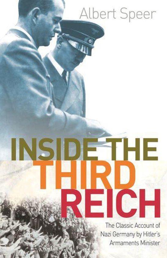 Boek cover Inside The Third Reich van Albert Speer (Onbekend)