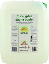Arowell - Eucalyptus sauna opgiet saunageur opgietconcentraat - 2,5 ltr