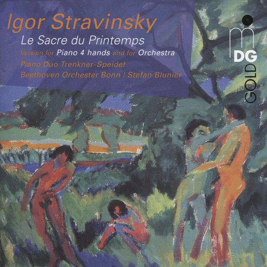 Stravinsky: Le Sacre du Printemps - Version for Piano 4 hands and for Orchestra