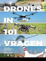 Boek cover Drones in 101 vragen van Rob Roo
