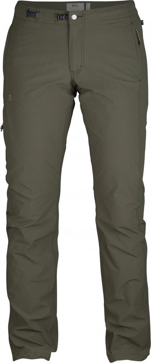 Fjällräven High Coast Trail Trousers W Outdoorbroek Dames Mountain Grey