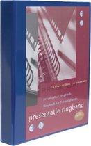 Presentatieringband Multo A4 23-rings O-mech 32 mm blauw