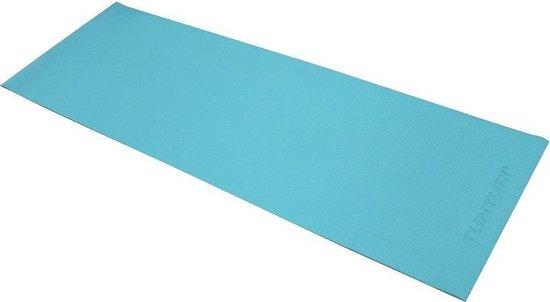 Tunturi Pvc Yogamat - Turquoise - 183 x 61 x 0.4 cm