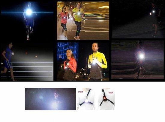 Beactiff Extra Krachtige LED Borstlamp Voor Hardlopen