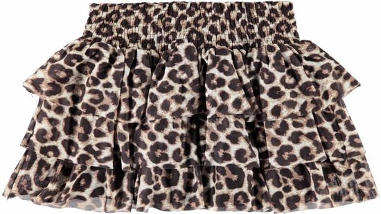 Name It rokje Sanessi bright white/ leopard