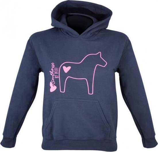 PFIFF Kinder-Pullover Soulhorse 116/128 Blauw