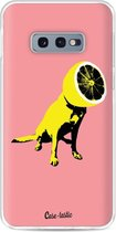 Samsung Galaxy S10e hoesje Lemon Dog Casetastic Smartphone Hoesje softcover case