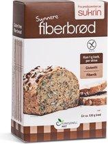 Sukrin Broodmix Fiberbrood (250 gram) - Glutenvrij en slechts 1 gram koolhydraten per snee!