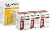 Accu Chek Performa actiepakket: 150 teststrips en 200 softclix