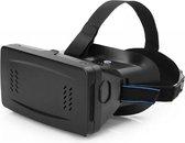 Ritech 2 VR Bril voor 3.5 tot 6 inch smartphones, verbeterde Ritech Virtual Reality bril V2 o.a. passend: iPhone 4-4s, 5-5s, 6-6s, Galaxy S3, S4-S4 mini, S5-S5 mini-plus-neo etc, zwart , merk i12Cover