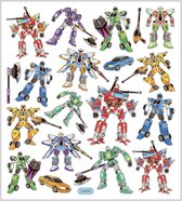 Stickers. transformers. 15x16.5 cm. 1 vel