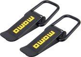 2 STKS Universele Veiligheid Snelsluiting Haak Vergrendeling Clip Clip Kit Accessoires Clip Auto Truck Lock Clip voor Racing, Groot Maat: 9 * 3.3cm