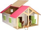 Kids Globe - Speelfigurenset - Boerenstal - 610168