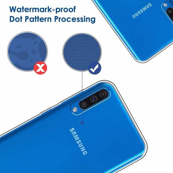 Samsung Galaxy A50s/A30s TPU Back hoesje - Transparant