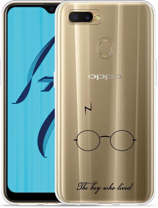 Oppo AX7 Hoesje The Boy Who Lived