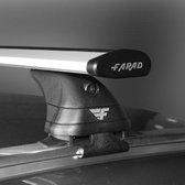Dakdragers Bmw X1 (F48) SUV vanaf 2015 - Farad aluminium wingbar