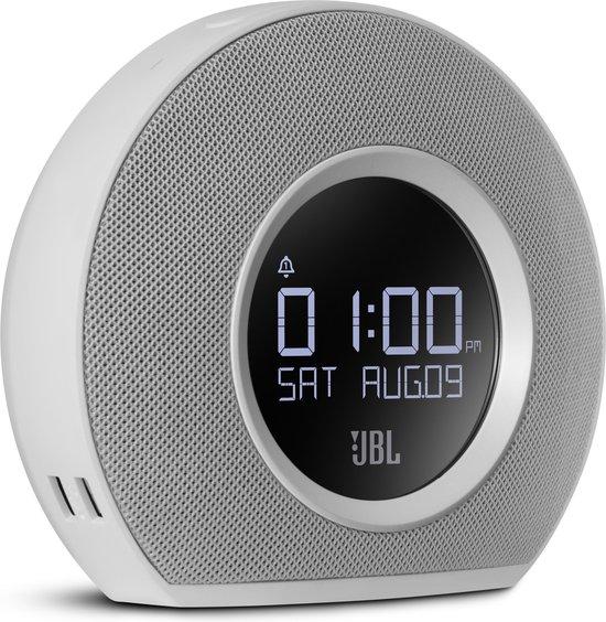 JBL Horizon - Bluetooth Wekkerradio - Wit