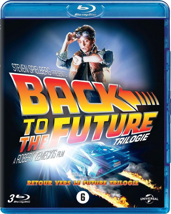 BACK TO THE FUTURE TRILOGY (D/F) [BD] ('