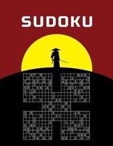 Large Print Sudoku - Samurai