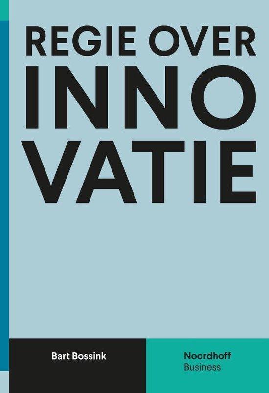 Boek cover Regie over innovatie van Bart Bossink (Paperback)