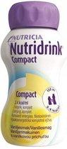 Nutridrink Compact Vanille - 4 x 125 ml