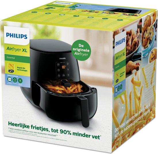 Philips Airfryer XL Essential HD9263/90 - Hetelucht friteuse met bakaccessoire