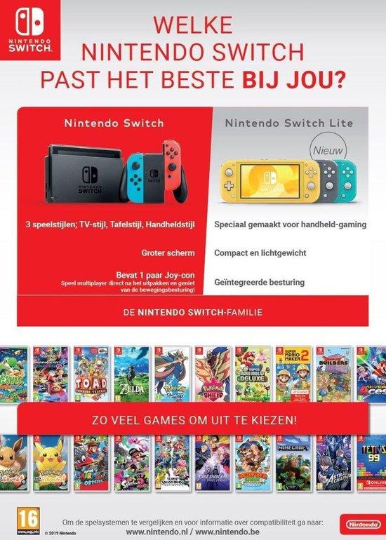 Nintendo Switch Lite Console - Grijs
