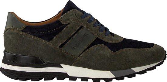 Mazzeltov Heren Lage sneakers 3982 - Groen - Maat 42