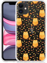Apple iPhone 11 Hoesje Cute Owls