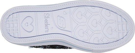 baloncesto Salón de clases Nuez  bol.com | Skechers Sneakers Kinderen SHUFFLES-GLITTER GIRLY - 10923L NVLB  Navy Light Blue