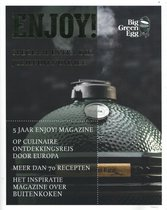 Boek cover Enjoy! van Big Green Egg (Paperback)