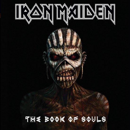 CD cover van The Book Of Souls van Iron Maiden