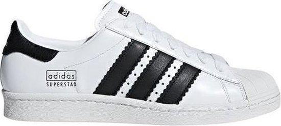 bol.com | Adidas Superstar 80s Wit-Zwart Sneaker 39 1/3