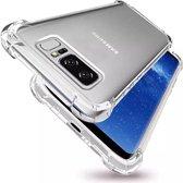 Hoesje voor Samsung Galaxy S10 Plus Transparant Siliconen Shock Proof - TPU Case met verstevigde randen