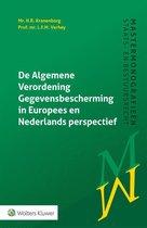 Mastermonografieën staats- en bestuursrecht - De Algemene Verordening Gegevensbescherming in Europees en Nederlands perspectief