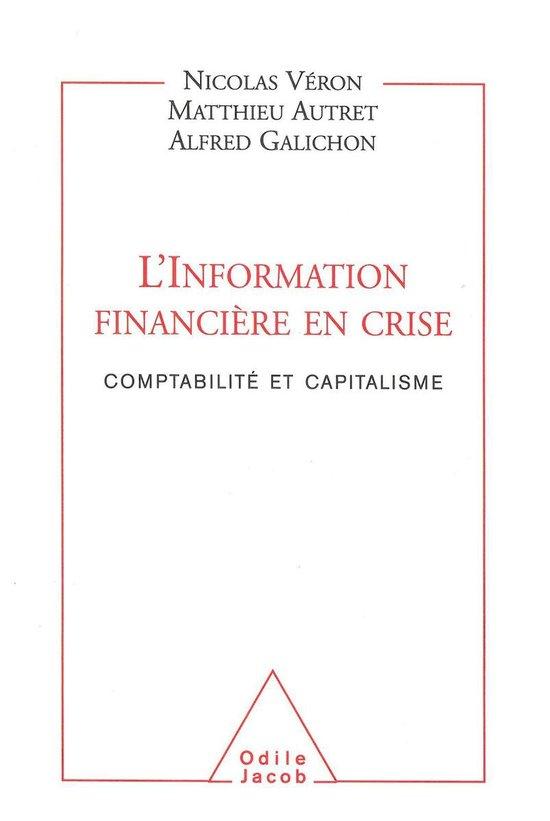 L' Information financière en crise