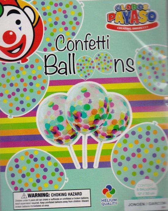 cofetti ballonnen jongen